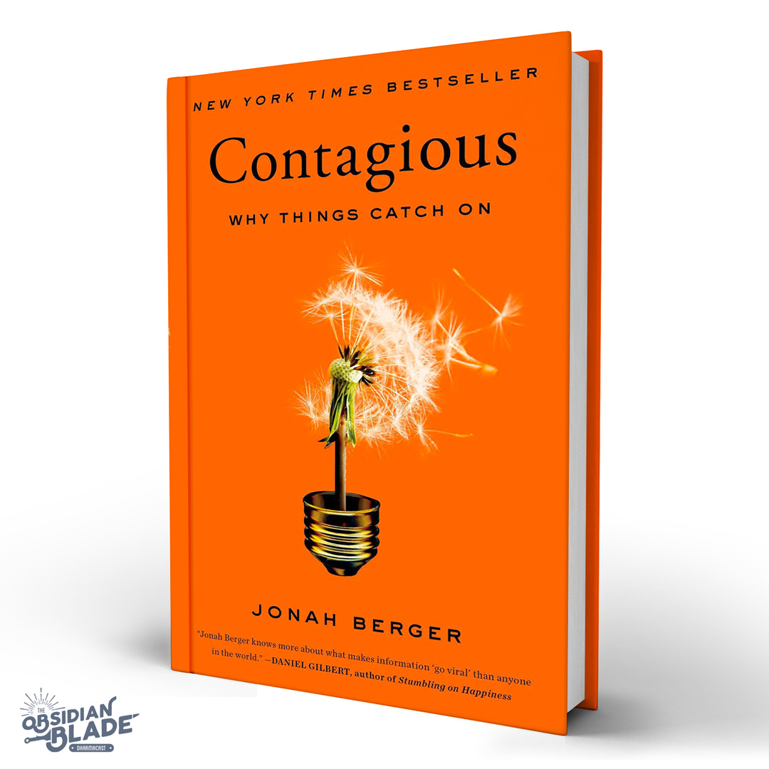 Best Business Books for Entrepreneurs: Contagious by Jonah Berger