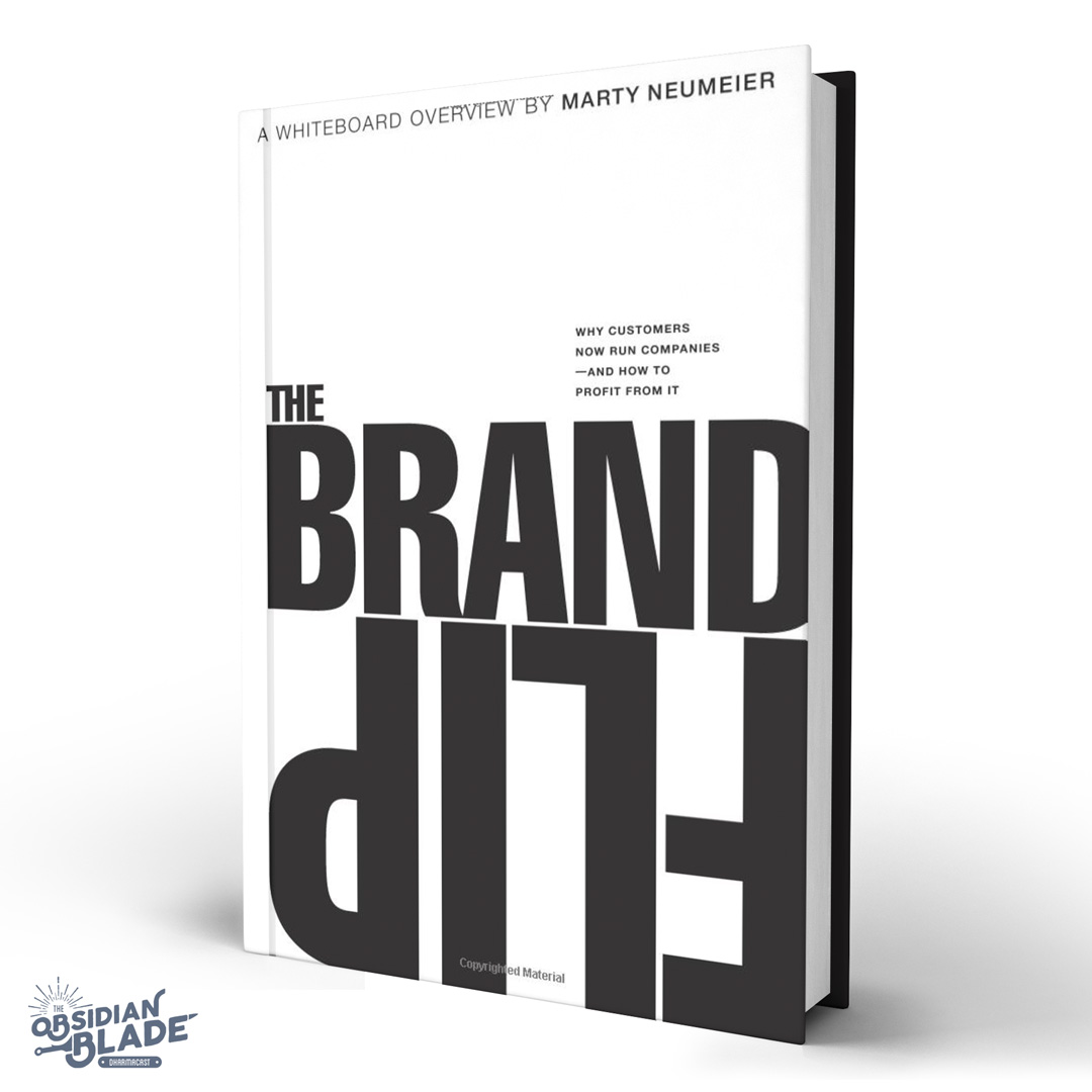 Best Business Books for Entrepreneurs: The Brand Flip by Marty Neumeier