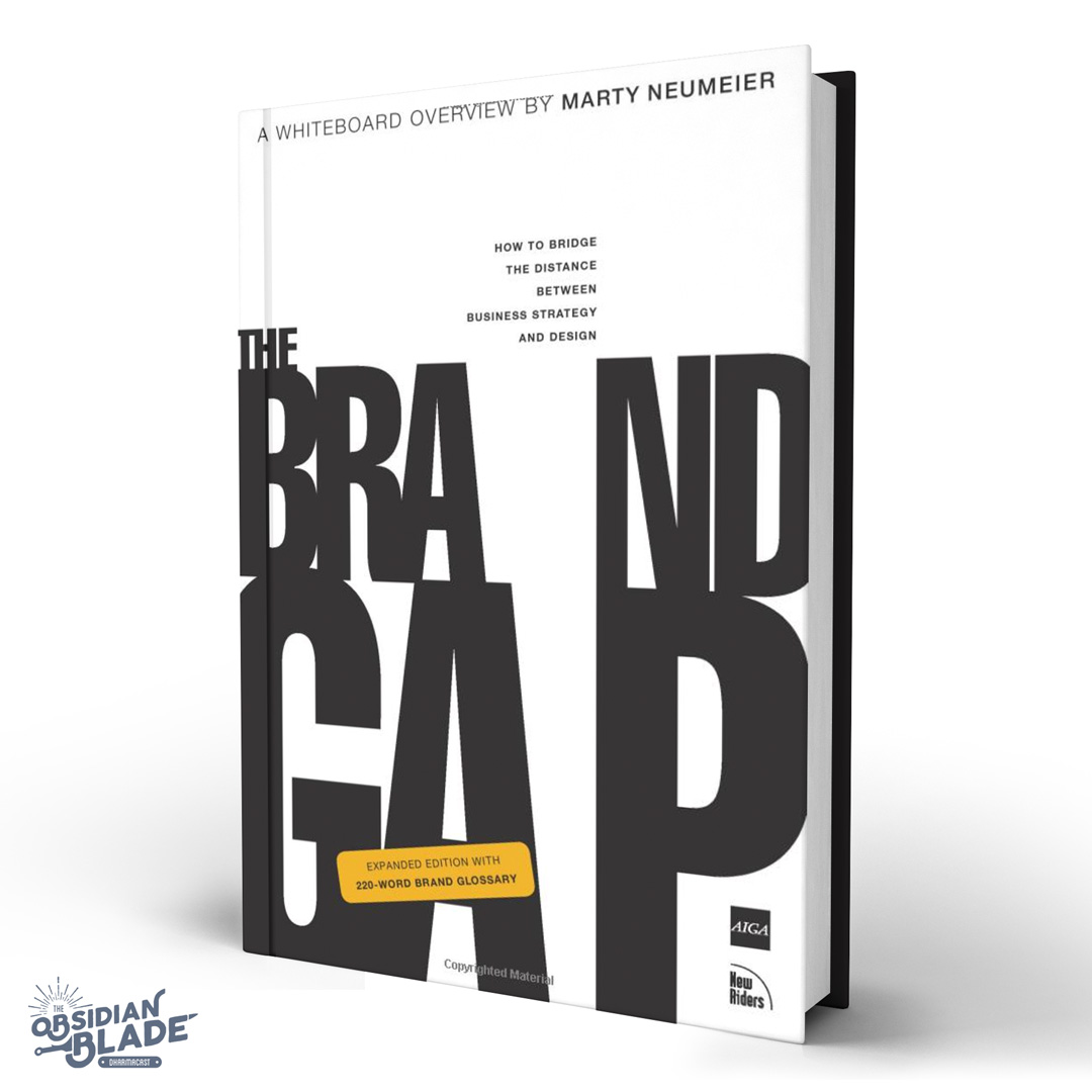 Best Business Books for Entrepreneurs: The Brand Gap by Marty Neumeier