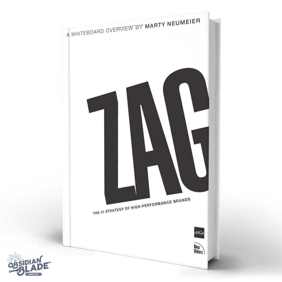 Best Business Books for Entrepreneurs: Zag by Marty Neumeier