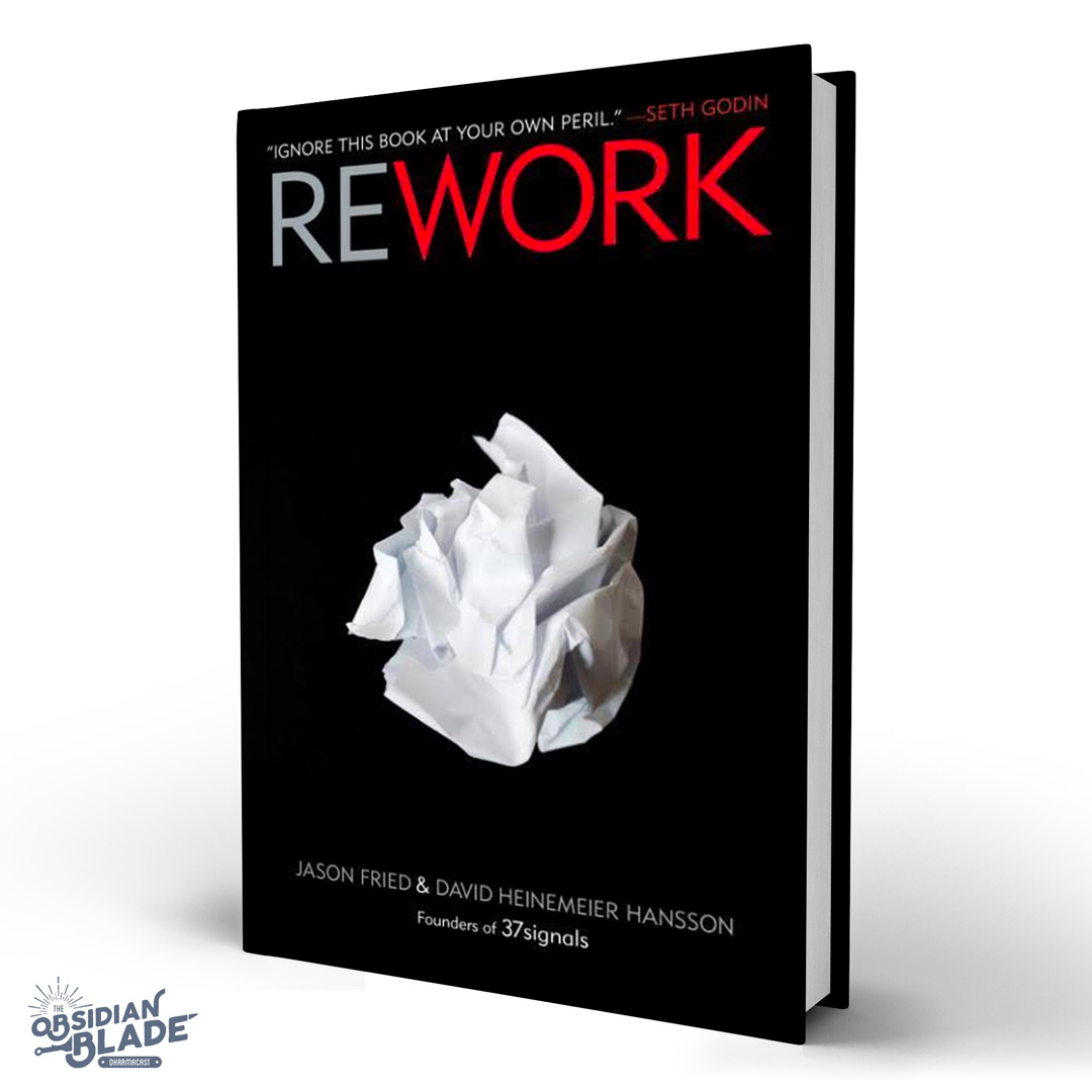 Best Business Books for Entrepreneurs: Rework by Jason Friedman