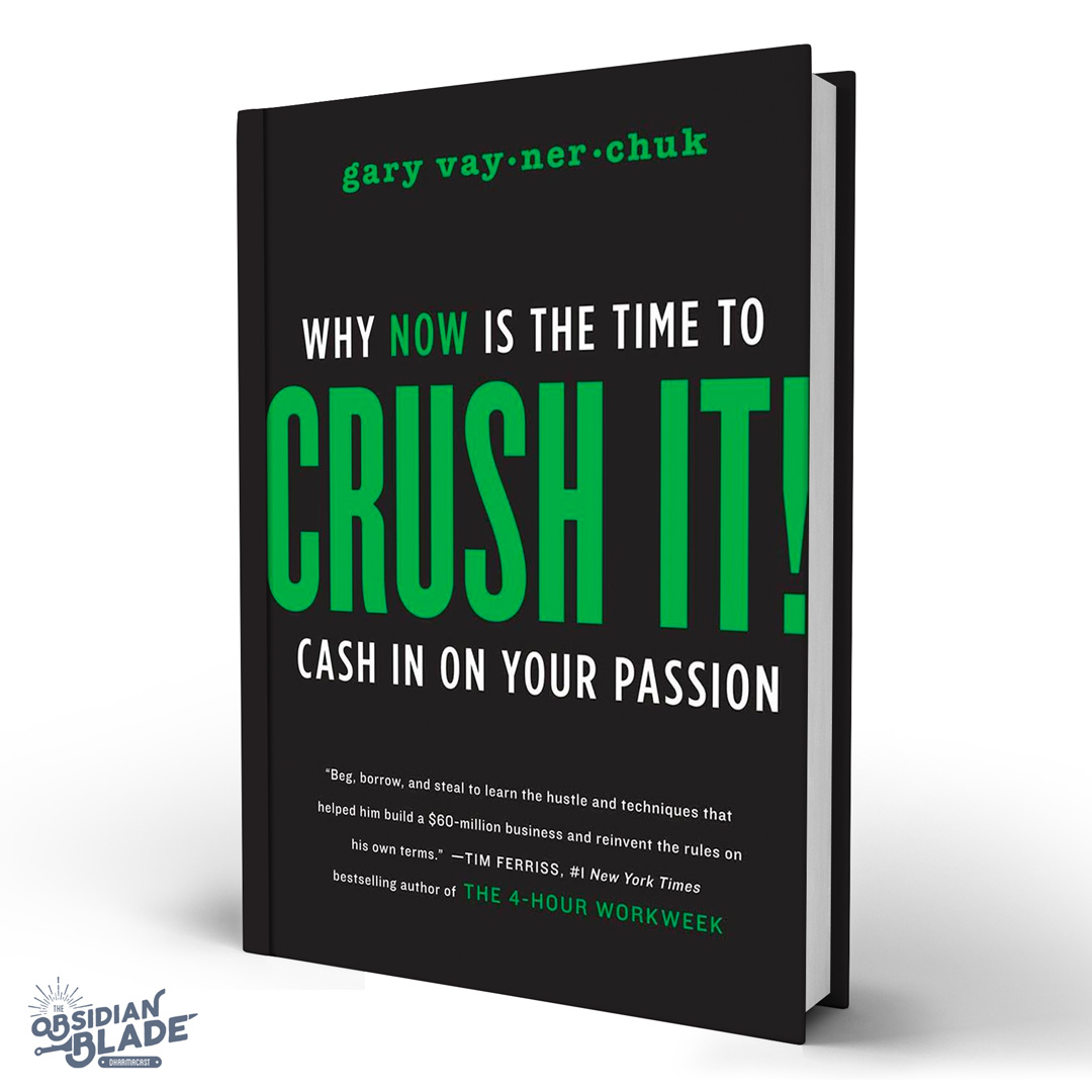 Best Business Books for Entrepreneurs: Crush It by Gary Vaynerchuk